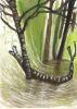 geslect spelende boomstam in de Mariapeel Ftollenaar geselect web